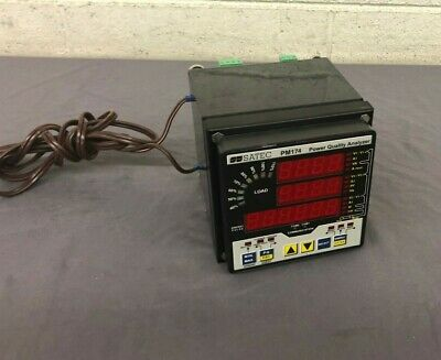 SATEC PM174 Power Quality Analyzer GREAT Satisfaction Guaranteed Fast Shipping