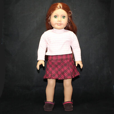 "American Girl Neck Brown Body 18"" Doll Historical Felicity Merriman CF01205"