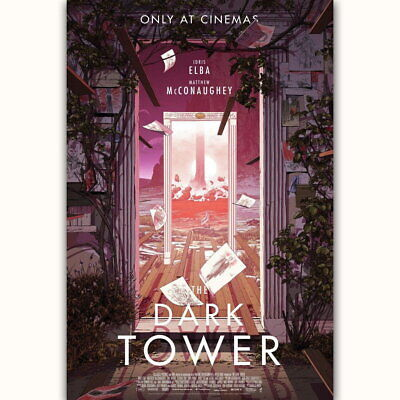 59189 The Dark Tower Stephen King 2017 Wall Print POSTER Affiche