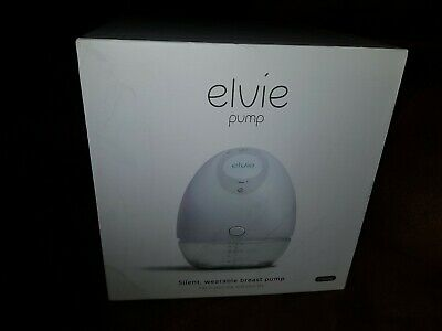 Elvie Single Electric Breast Pump - Silent wearable pump that fits in your bra