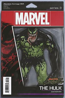 Absolute Carnage #4 Action Figure Var  Marvel Comics  2019 Stock Img