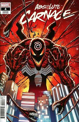 Absolute Carnage #4 Ron Lim Var  Marvel Comics  2019 Stock Img