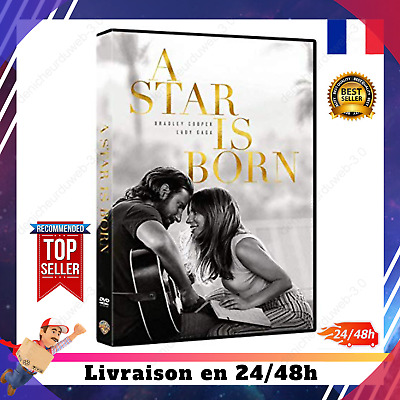 A Star is Born (2018, DVD) Lady Gaga Bradley Cooper Film Best Seller Oscars 2019