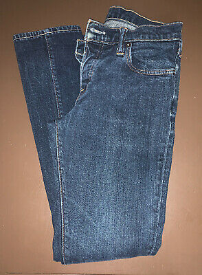 Men's Abercrombie & Fitch Super Skinny Jeans 30 X 32 Button Fly Closure