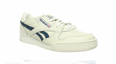 Reebok Phase 1 Pro Suede Low-Top Flat Lace-Up Casual Mens Trainers