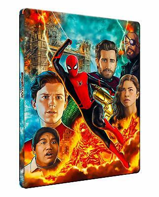 Spider-Man Far From Home Steelbook Blu Ray+DVD Combo / Import / WORLDWIDE P+P