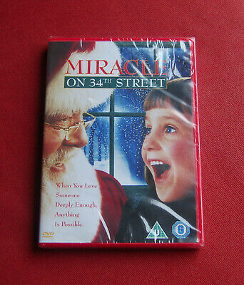 Miracle On 34th Street - NEW & SEALED Region 2 DVD - Richard Attenborough