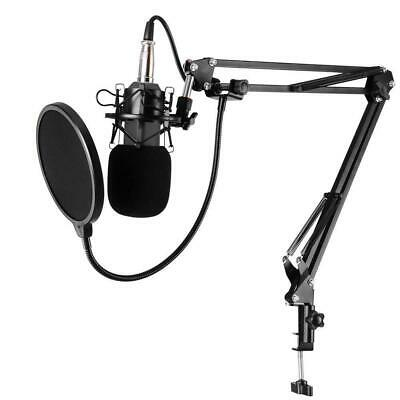 BM-800 Cardiod Condenser Capacitor Microphone Music Recording Mic for PC Laptop