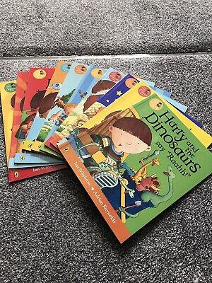 harry and the dinosaurs Collection Of 10 Books