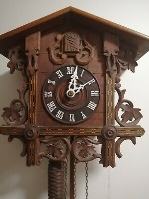 Very nice Antique Cuckoo Clock for Restoration