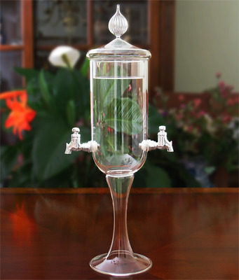 Petite Crystal 2 Spout Absinthe Fountain