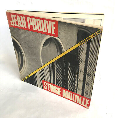 Excellent Jean Prouve / Serge Mouille reference book, exhibition catalog, 1985