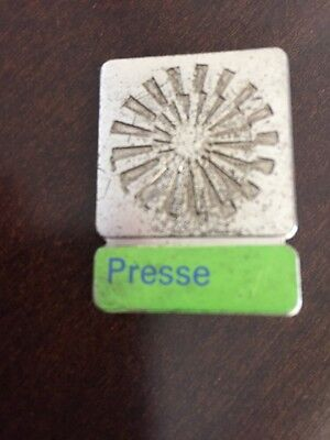 1972 Olympic Summer Games Munich Germany Press Presse Participation Pin Badge