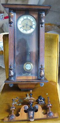 REPAIR PROJECT H. Barnwell of Matlock Bridge antique cased wall clock