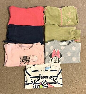 Jumper Hoodie Joggers Trousers Girls Bundle Size 4 - 5 Years