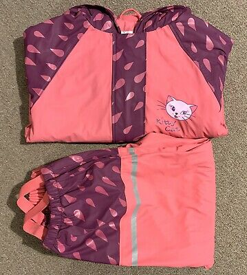 Lupilu Girls Set Waterproof Jacket And Trousers Size 4 - 5 Years