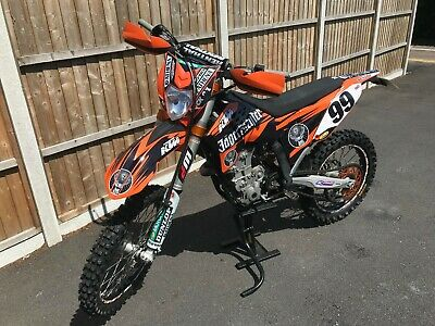 Ktm Sxf Full Road Legal In Amazing Condition
