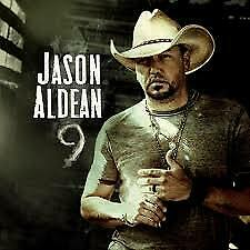 Jason Aldean CD - 9 - Brand New Sealed - Free media mail shipping in USA