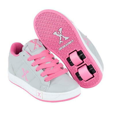Sidewalk By Heelys Wheeled Skate Shoes Girls UK 6 US 7 EUR 39 CM 25 REF HE21