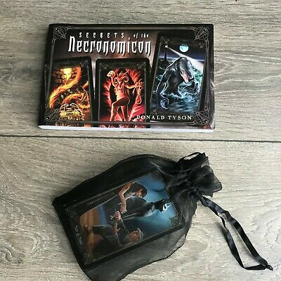Necronomicon Tarot by D. Tyson Complete Set Deck Guide Book Cthulhu Lovecraft
