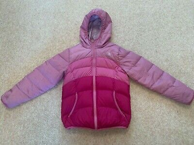 The North Face Girls Moondoggy Reversible Down Snow Jacket Size Medium