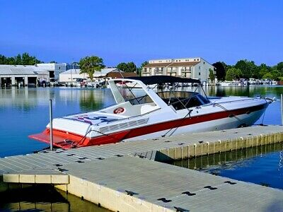 Video Amazing 400 Hrs 34 Scarab Iii Freshwater Reconditioned Super Clean Solid