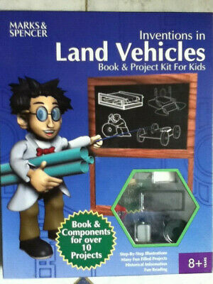 Inventions In Land Vehicles Book And Project Kit For Kids