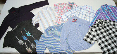 Job Lot of Boys Shirts NEXT, M&S, JASPER CONRAD and Others Various Ages 3 to 10