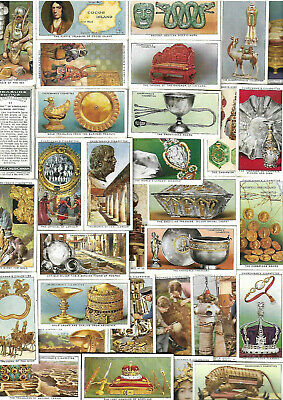 Full Set 50 Treasure Trove By Churchman  82Yrs  Vg/Excellent Old Cigarette Cards