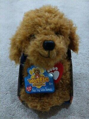 Waffle The Wonder Dog CBeebies - Brand New Interactive Soft Toy with Sounds Song