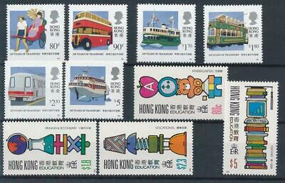 [71216] Hong Kong 1991 2 good sets Very Fine MNH stamps