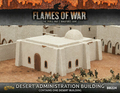 Painted ADMINISTRATION BB224 Fully DESERT BUILDING wmn0Nv8