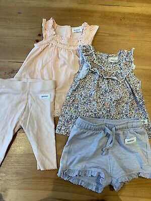 Newbie Baby Girl Bundle 1-4 Months 4 Items