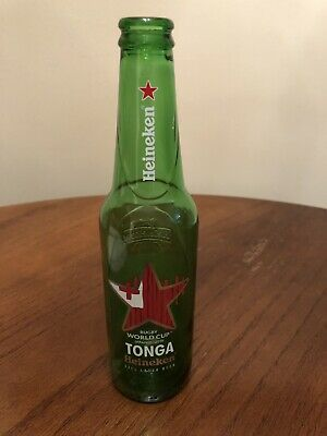 Heineken limited edition beer bottle Rugby World Cup Japan 2019 (Tonga)