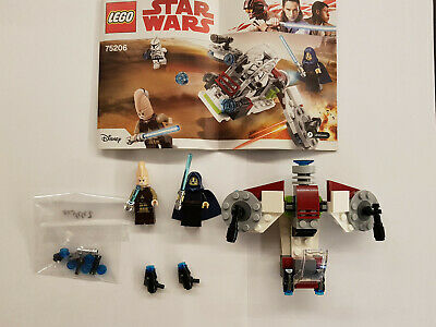 LEGO Star Wars Jedi und Clone Troopers Battle Pack (75206)