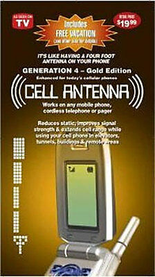 10 x Cell Phone Antenna Booster Gen 4 *Gold Edition* UNIVERSAL