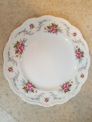 "Royal Albert Tranquility 10.25"" Dinner Plate England Bone China"