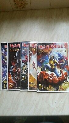 Iron Maiden Complete Legacy Of The Beast including varient