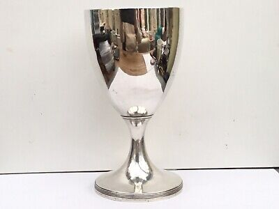 A Large Georgian Solid Silver Goblet, 1797