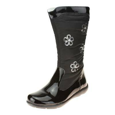 Primigi Flora Girls Black Boot size eu kids children zip