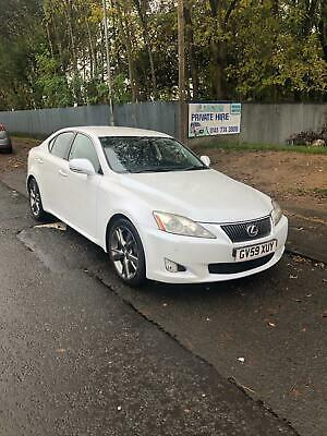 Lexus IS 220d 2.2TD SE-L FSH,DIESEL LOADED TO THE MAX WITH EXTRAS