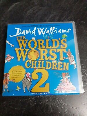 The World's Worst Children 2 by David Walliams Brand New audio book