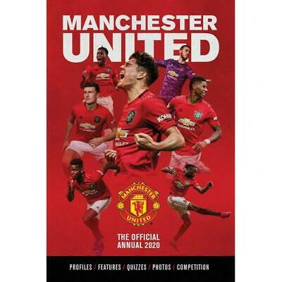 Manchester United Fc Man Utd A4 Hard Back Book 100% Official Annual 2020
