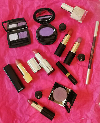Lot maquillage 11 pièces CHANEL CLARINS SHISEIDO LANCOME