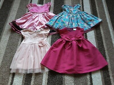 63Gg Baby Girls 9-12 Months Beautiful Bundle Of Party Dresses