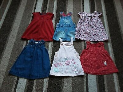 39Gg Baby Girls 9-12 Months Bundle Of Beautiful Dresses