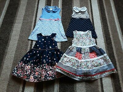 90Gg Baby Girls 12-18 Beautiful Bundle Of Dresses Jasper Conrad Tu