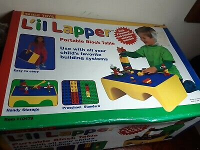 Lil lapper Lego Tray / table With Storage - lego and duplo - boxed