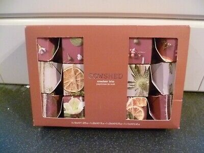 Cowshed Cracker Trio. 1 x Hand & Body, 1 x Bullocks & 1 x Hand & Lip. New.