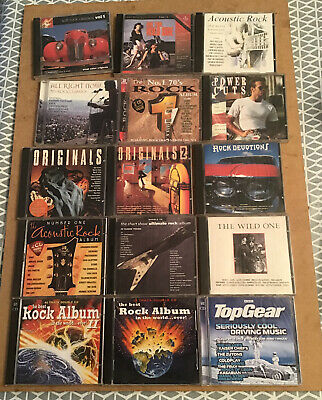 Job Lot Rock Original CDs Pre-owned